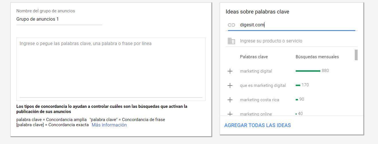 guía rápida de campaña en google ads - paso 4