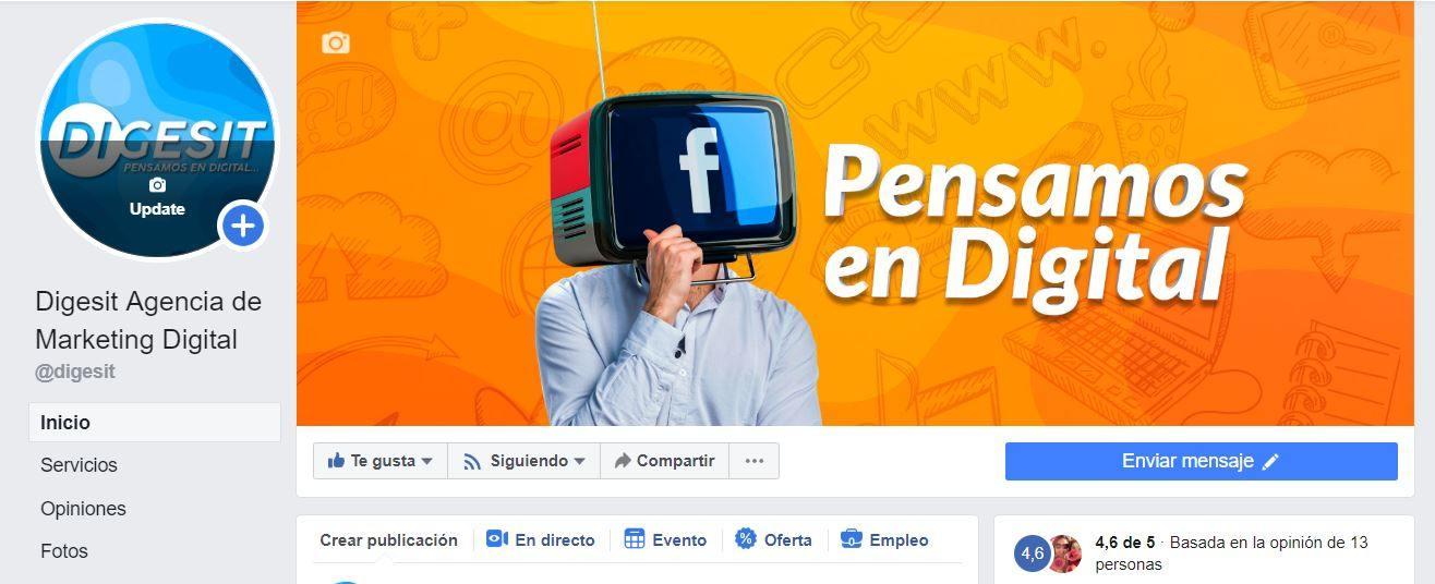 perfil y portada de facebook