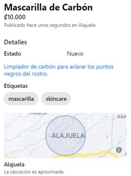 marketplace información