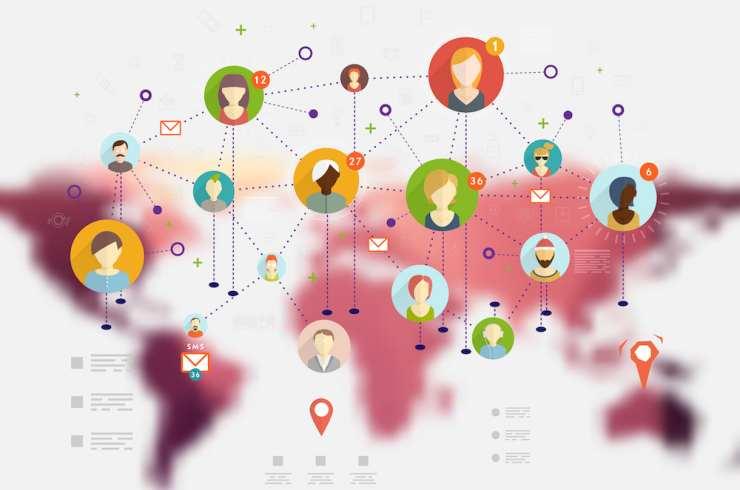conexiones humanas en todo el mundo