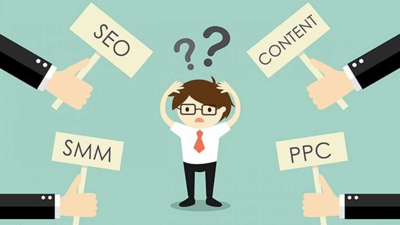 SEO, PPC, Content Marketing o SMM