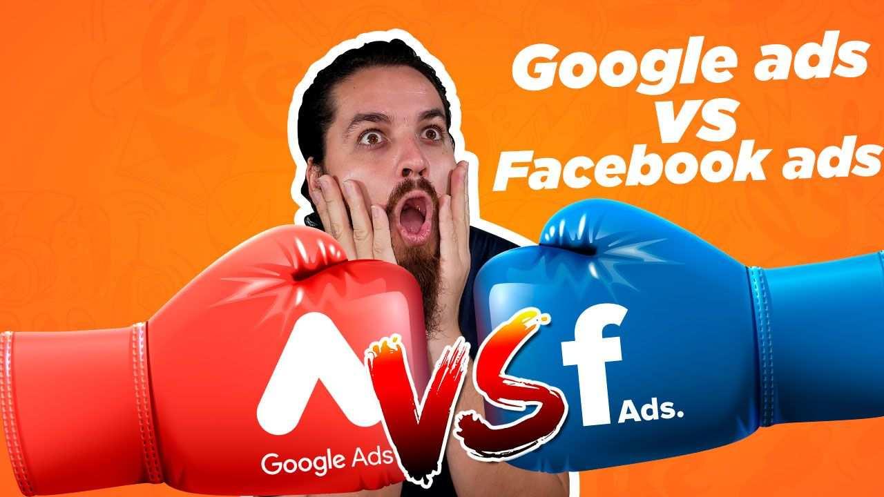 diferencia entre Facebook Ads y Google Ads